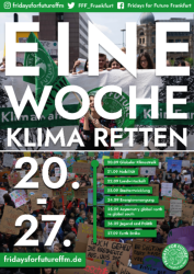 Week for Climate Poster